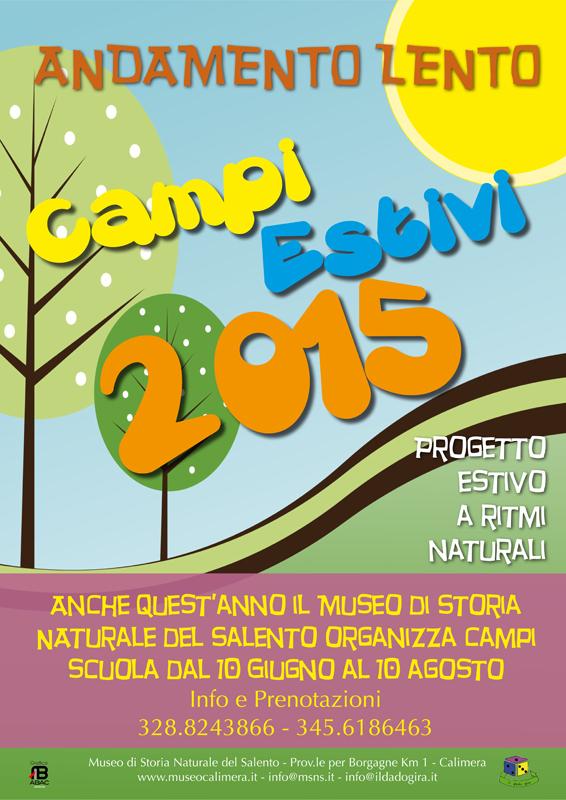 Campi estivi 2015 al Museo di Storia naturale di Calimera