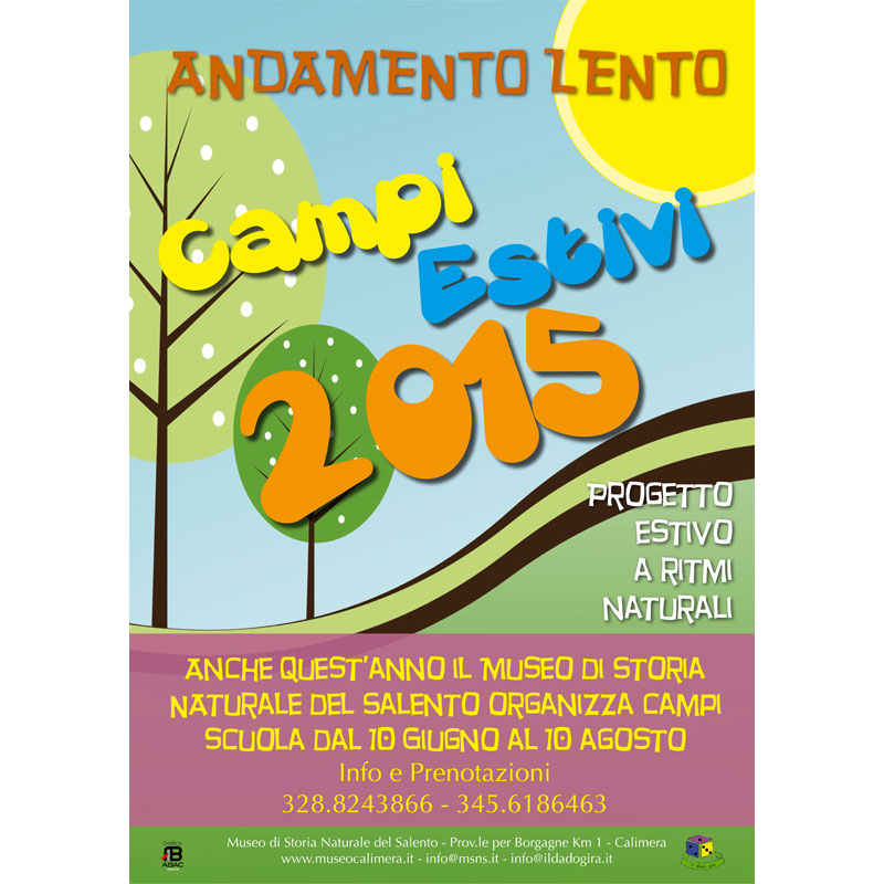 Campi estivi 2015 al Museo di Storia naturale di Calimera.