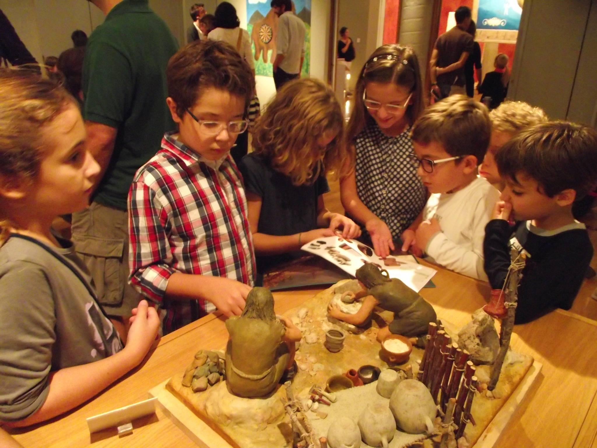 Bambini al Musa, Museo storico archeologico dell'Università del Salento