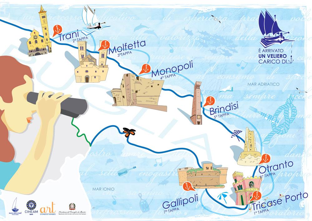 Pugliamusei_mappa_unvelierocaricodi_ecomuseo_tricase