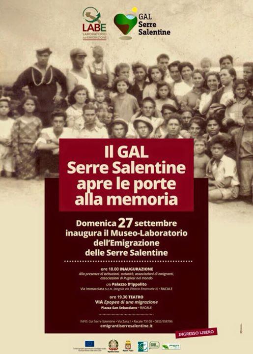 Museo dell'emigrazione delle Serre Salentine
