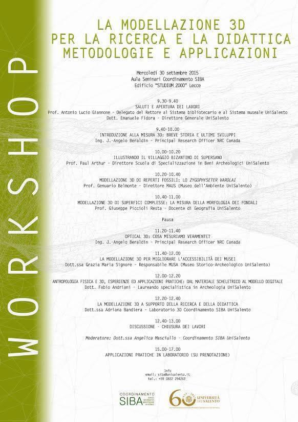 Workshop Musa-Lecce