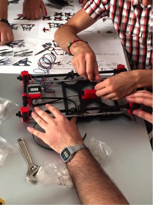 workshop sull'OBL e la stampa 3D