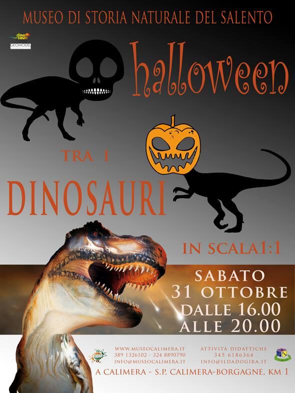 Halloween con i Dinosauri