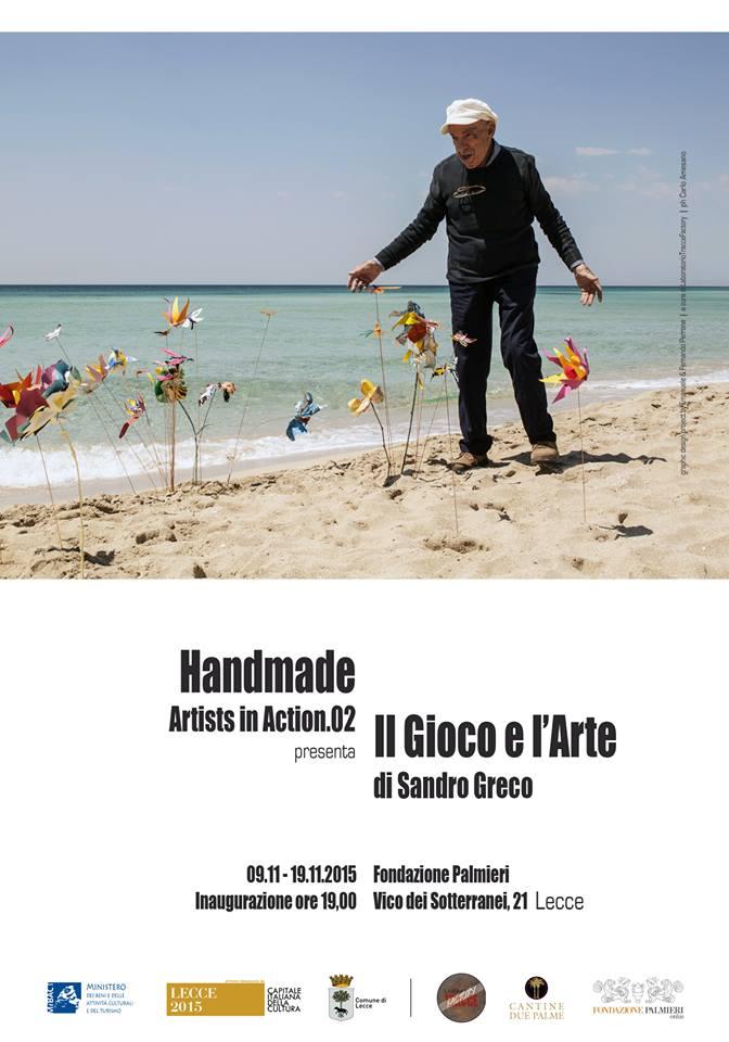 Handmade ArtistinAction 2.0 - Sandro Greco