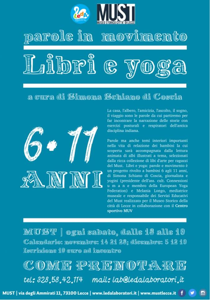 Libri e yoga-parole in movimento
