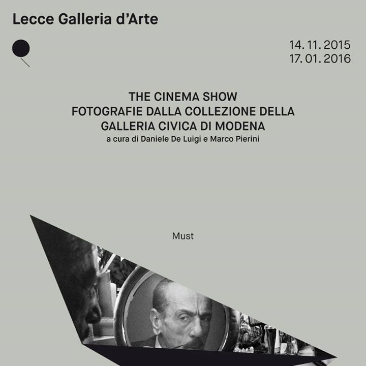 The Cinema Show.Fotografie della Galleria Civica di Modena