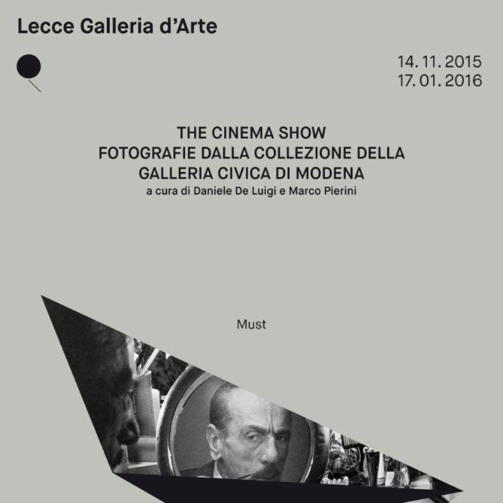 The Cinema Show.Fotografie della Galleria Civica di Modena