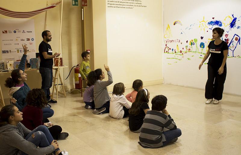 improjunior - corso di teatro per bambini e ragazzi al Must di Lecce