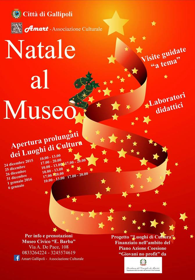 Natale al museo-Gallipoli