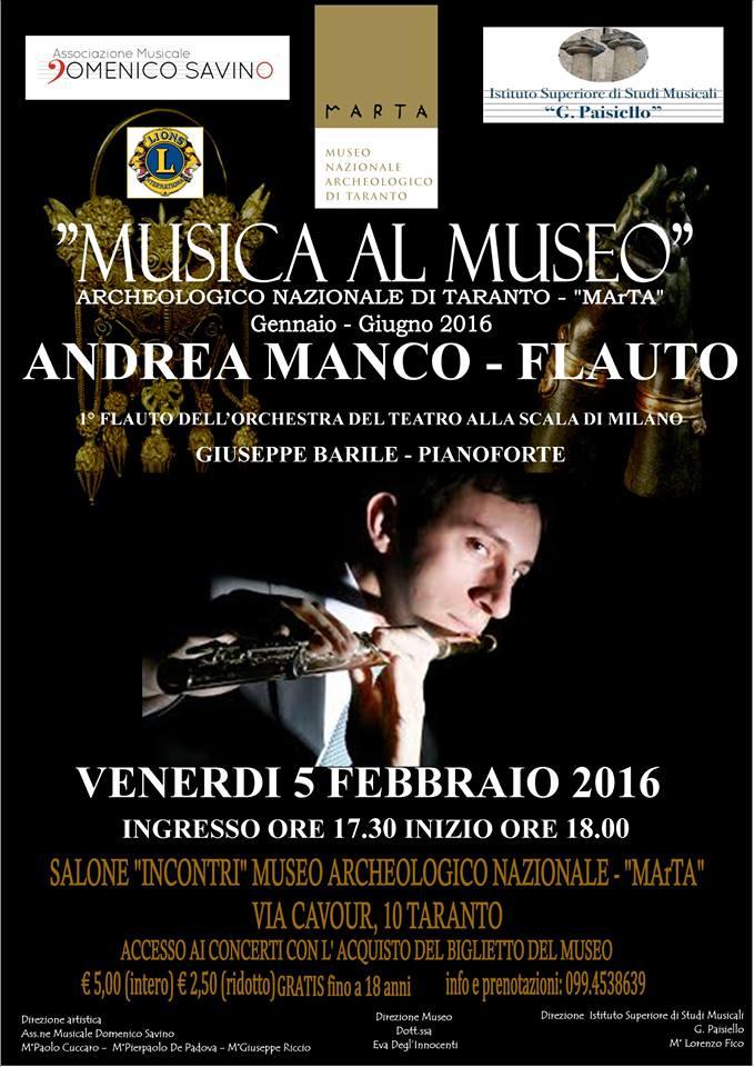 musica al museo al Marta