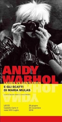 """""""Andy Warhol Ladies vs Gentleman e gli scatti di Maria Mulas"""""""