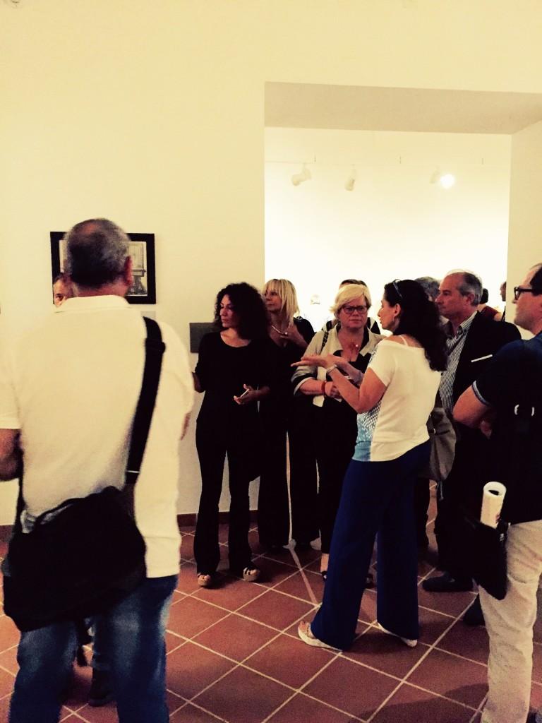 Loredana Capone in visita al Museo Cavoti